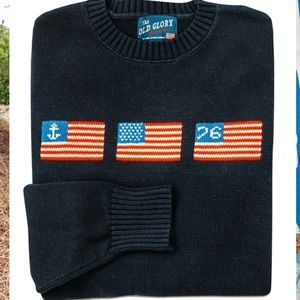 NWT Unisex Kiel James Patrick Old Glory Sweater